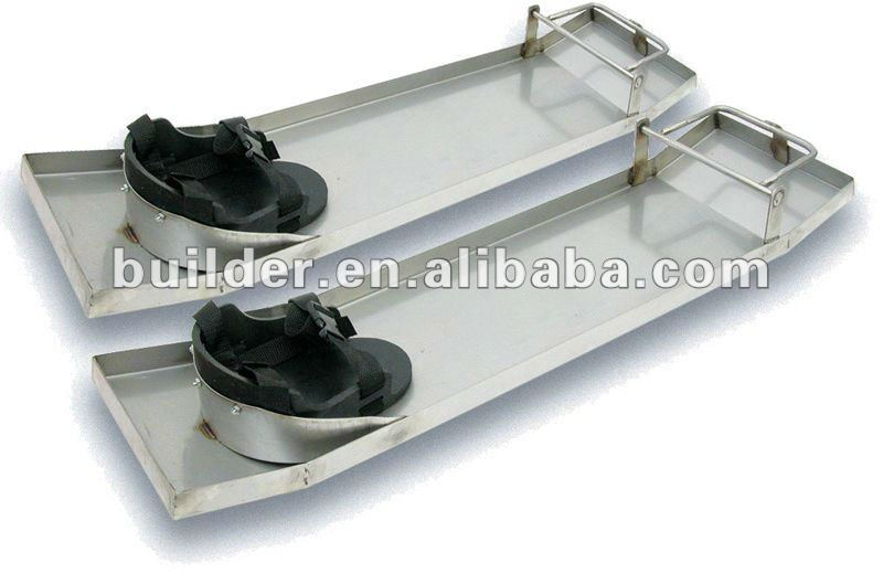 Stainless Steel Knee Boards with Pads