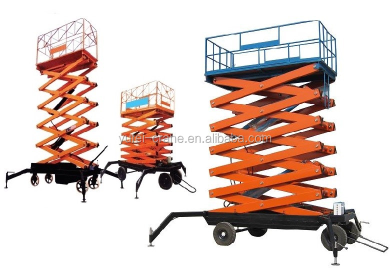 Mobile Scaffolding Scissor Lifts and Platform