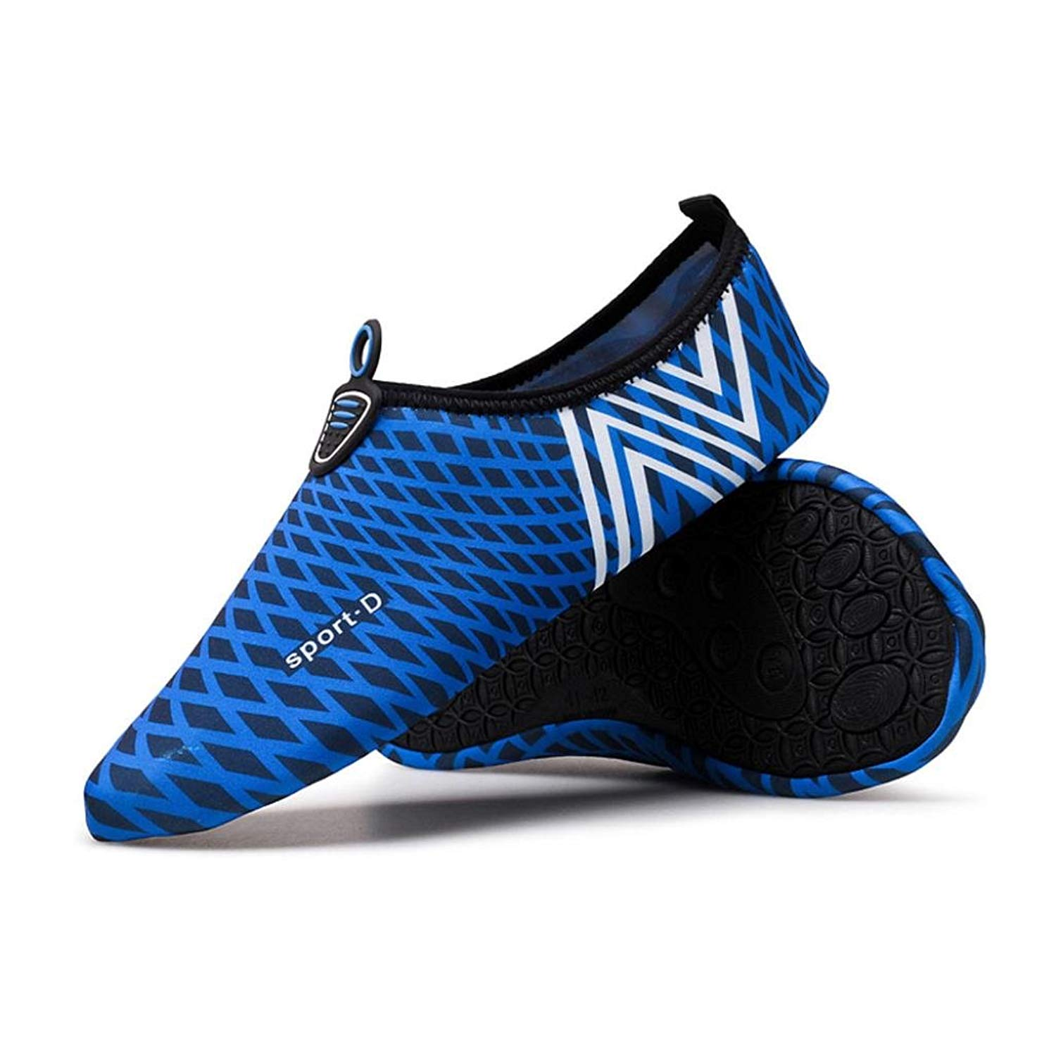 Challyhope Water Shoes Men Women Barefoot Aqua Shoes Quick-Dry for Swim, Surfing Yoga