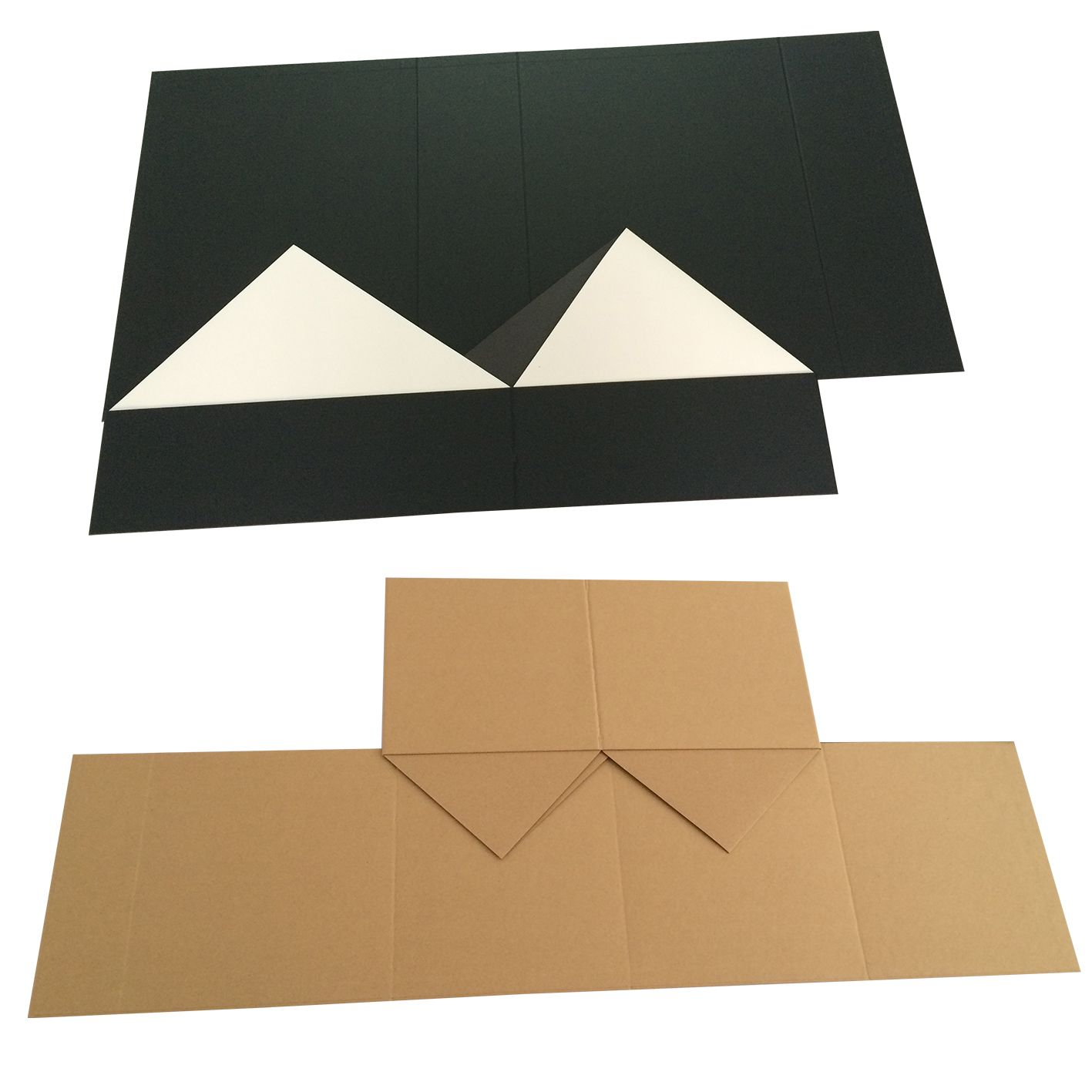 Foldable Gift Cardboard Paper Flat Folding Packaging Collapsible Box
