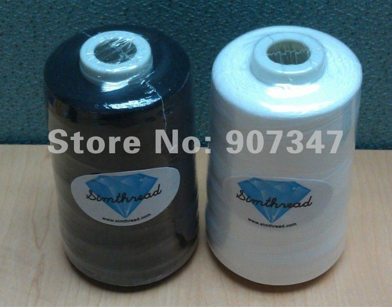 75D//2 Simthreads 60WT Polyester Embroidery Machine Thread for Bobbins,...