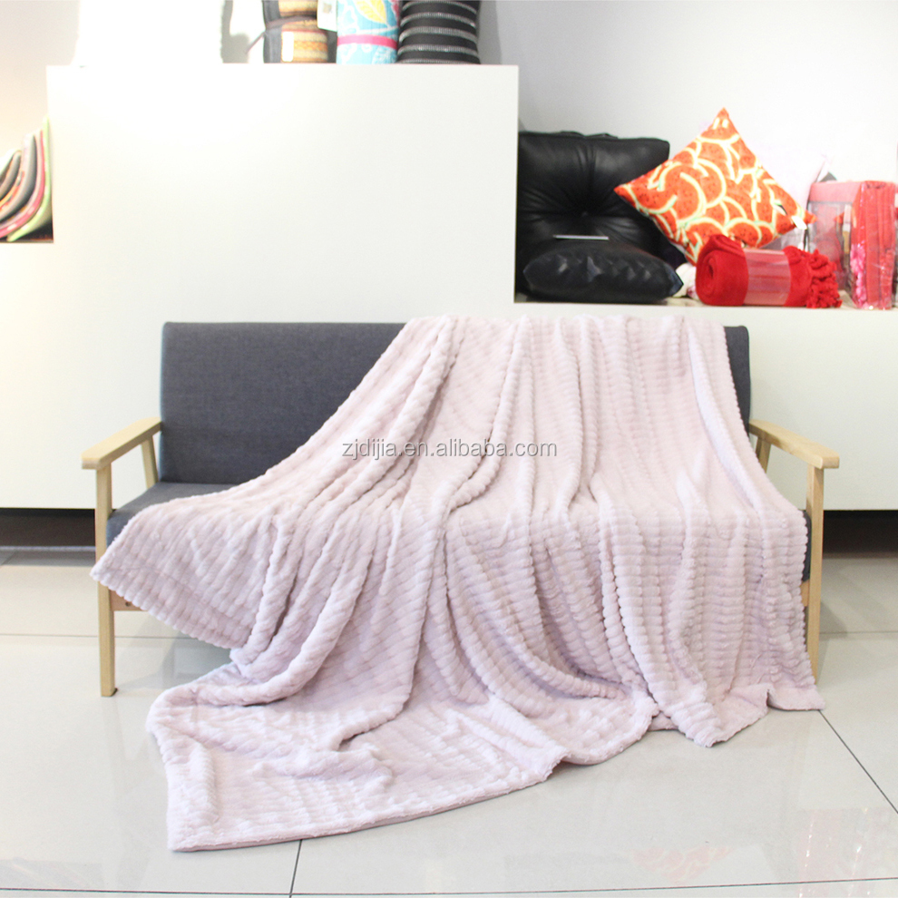 Buy wholesale direct from china high density fleece blanket