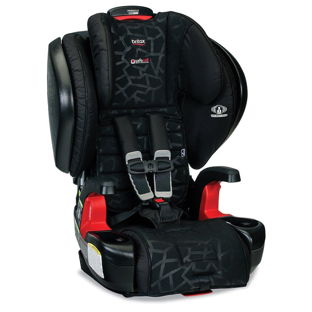 Britax Frontier G1 1 Click Harness 2 Booster Car Seat W Travel Bag Black Kaleidoscope