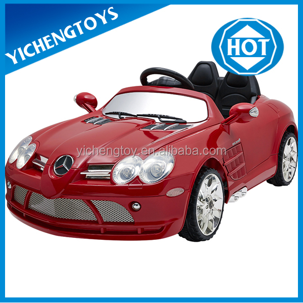 Hot selling 2.4G licensed remote control ride on car for kids