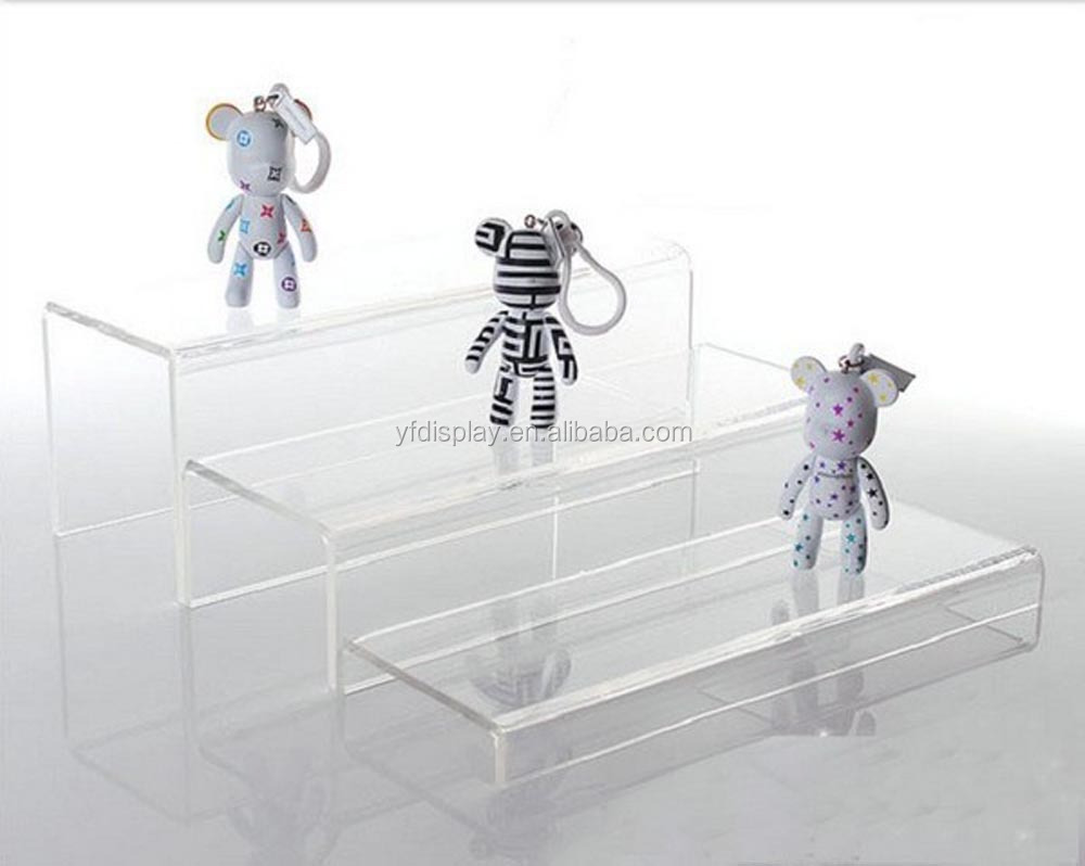 Customized acrylic toy model display stand / clear stands for toys