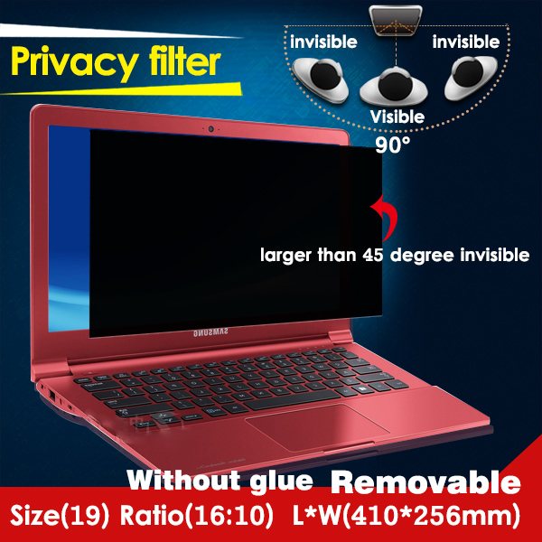 Fancy manufacturer supply privacy screen protector for Laptop