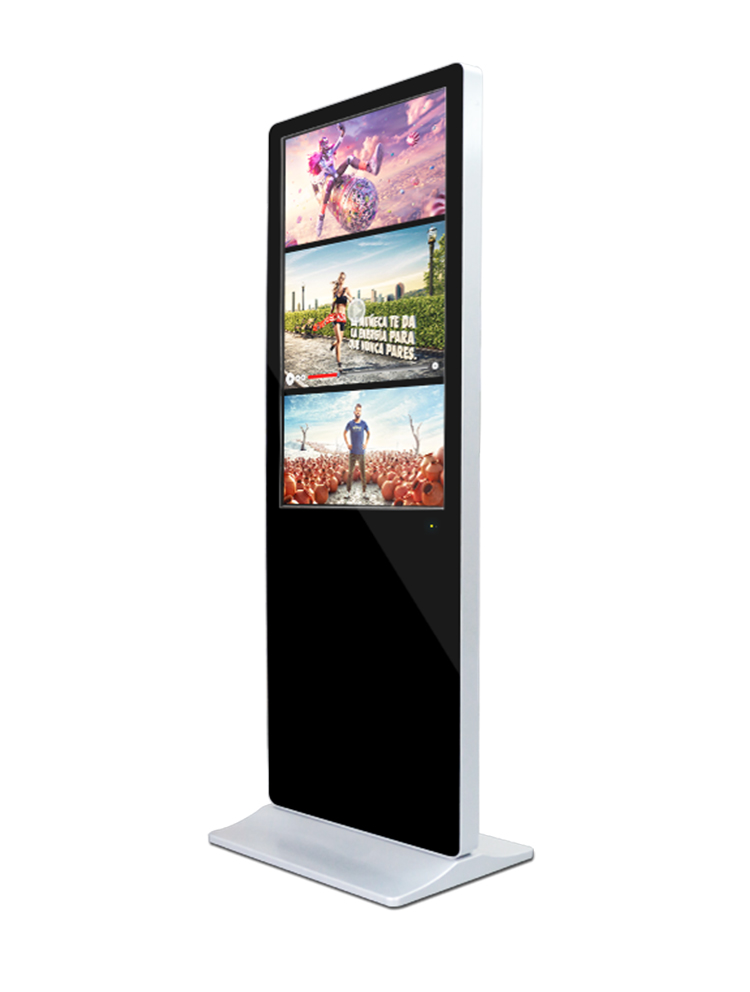 65 Inch UHD All-In-One Vertikal Digital Signage E-Poster Kios