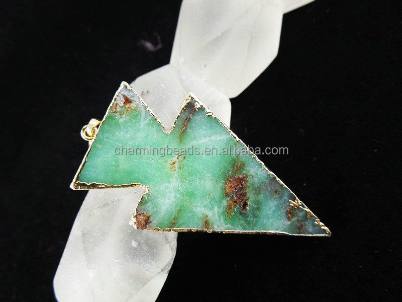 Ch-lsb0757 Australia Jade Pendant,Chrysoprase Pendant,Wholesale ...