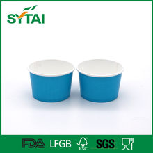 Wholesale disposable biodegradable beautiful ice cream paper cup