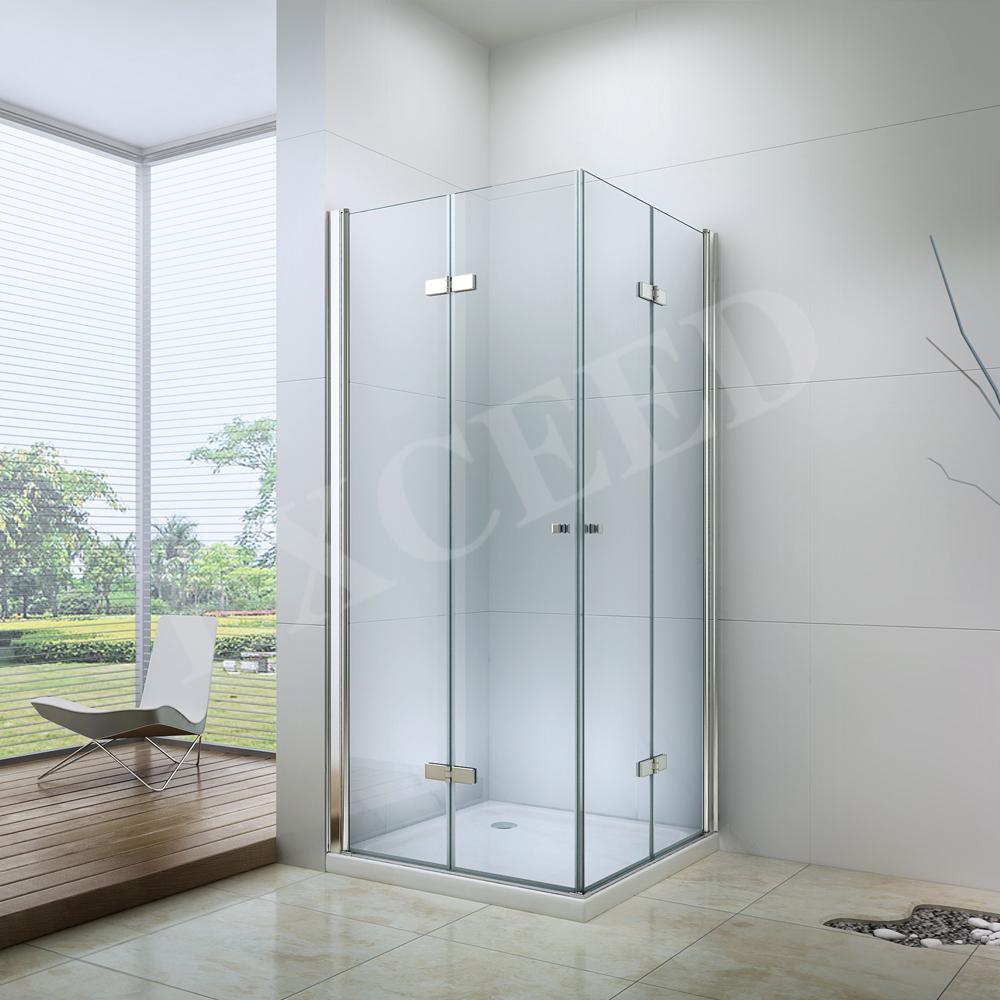 正方形のシャワーのエンクロージャ折りたたみヒンジ/キャビン/ex-213lドア