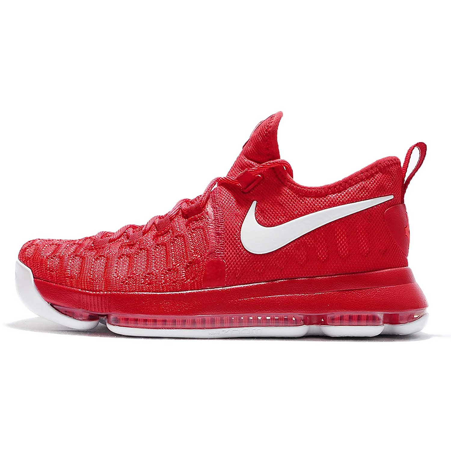 detailed look 57d9c f6f92 Get Quotations · Nike Men s Zoom KD 9 EP, UNIVERSITY RED WHITE