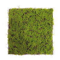 Artificial green moss for indoor decoration grass block home garden ornament