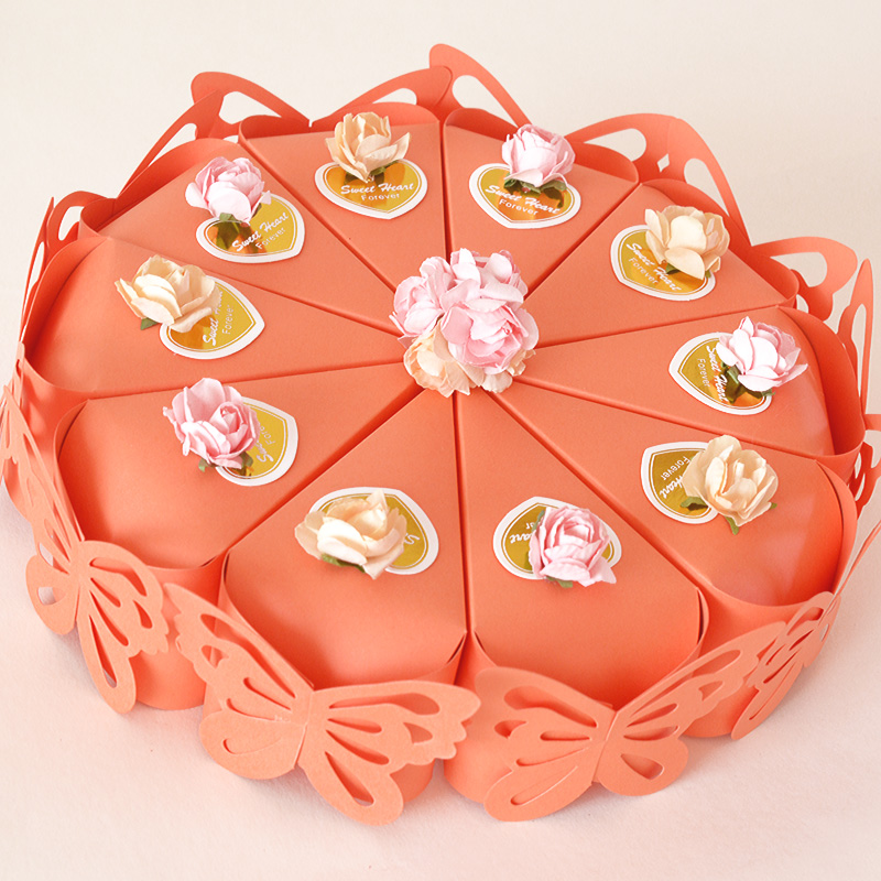 Creative Cake Boxes Design And Packaging For Cakes Food Buy Orange