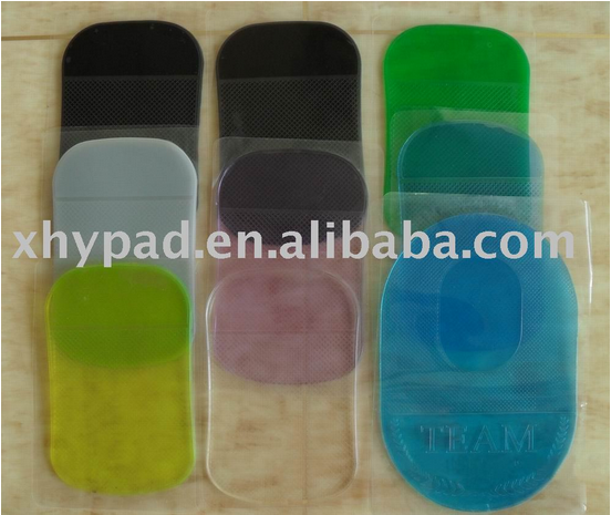 PU sticky mobile anti slip pad