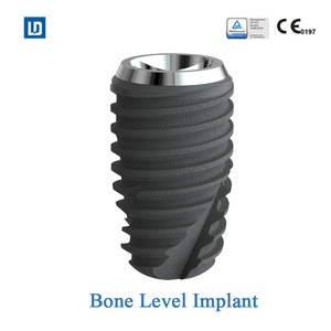 CE approved Internal Hex and Submerged Bone Level titanium orthopedic implant dental Implant korea with OEM service