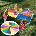 1SET LOT Super Sturdy Parachute Outdoor toys Teamwork toys Birthday gift Christmas toys Team games Kindergarten
