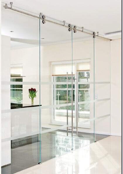 Office Frameless Sliding Glass Door Hardwaresliding Door Accessory