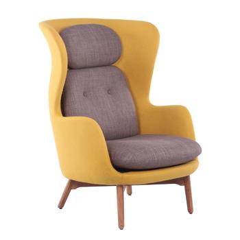 Moderne Fancy Woonkamer Replica Ro Stof Lounge Hoge Terug Tv Stoel ...