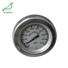 Back Connection industrial oven bimetal thermometer