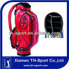 Wholesale Red PU Golf Bag Factory