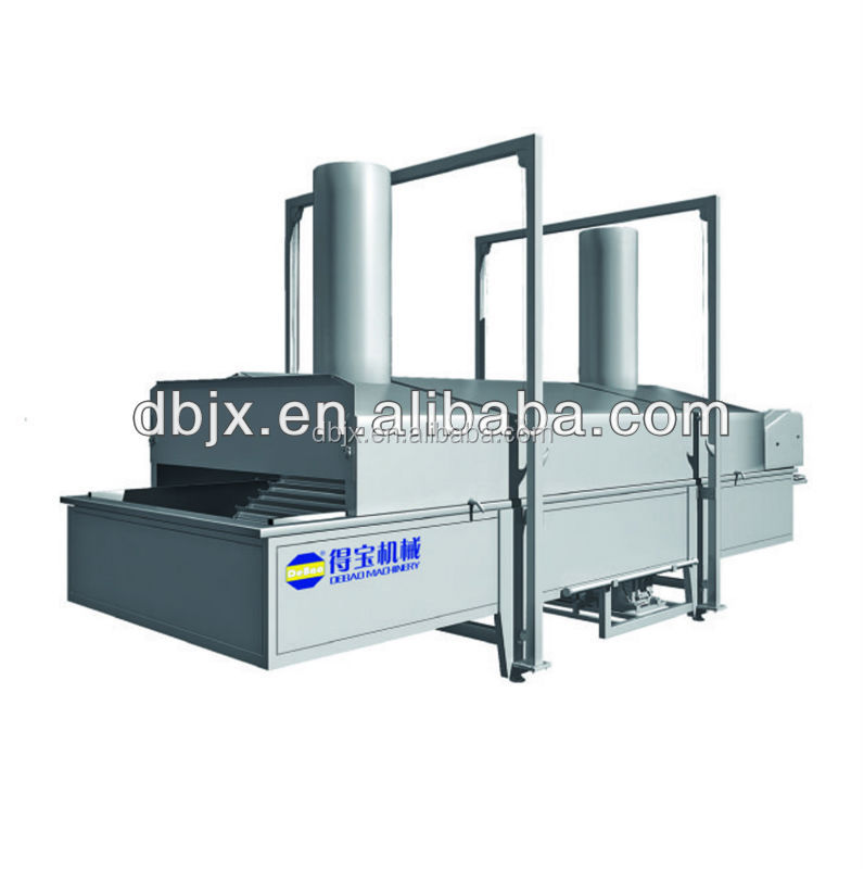 potato chips making machine conveyor fryer machine