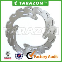 Motorbike 240mm Wave Rear Solid Brake Disc Rotor For Honda CR250R CRF450R CRF250X
