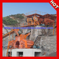 2015 China Supply Stationary Complete Stone Crusher Plant