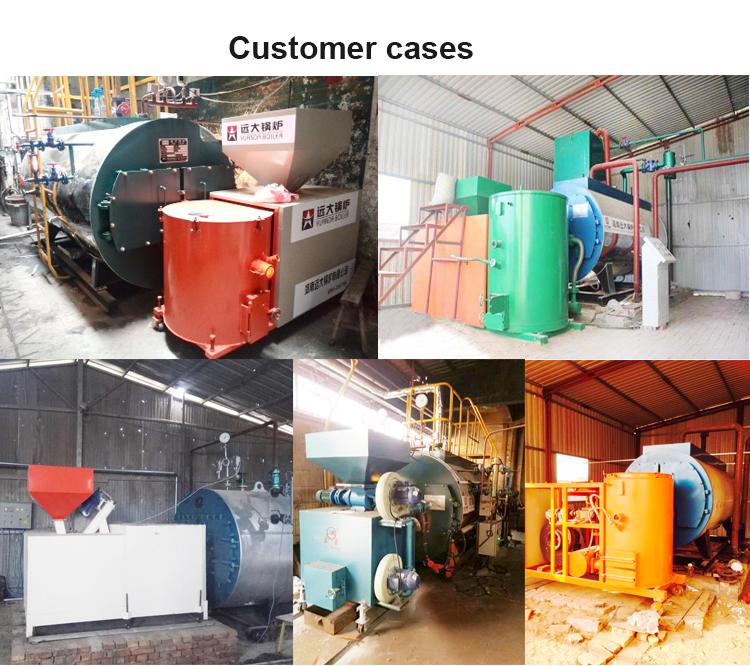 Tarwe/gerst/soja stro gemaakt pellets ontslagen 3ton 3 t/h industriële stoom ketels