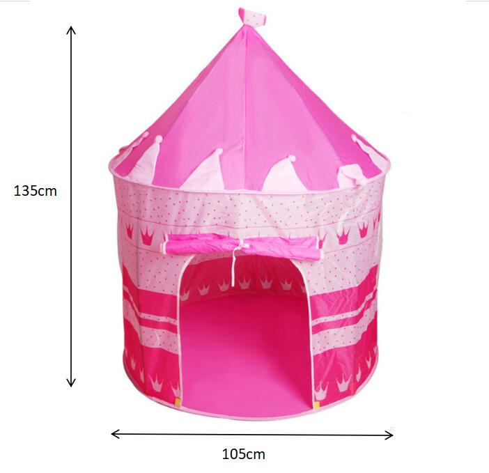 High quality castle kids indoor play tent