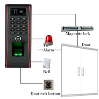 TF1700 Durable IP65 waterproof Out door Finger/PIN/Card standalone reader for access control and time attendance