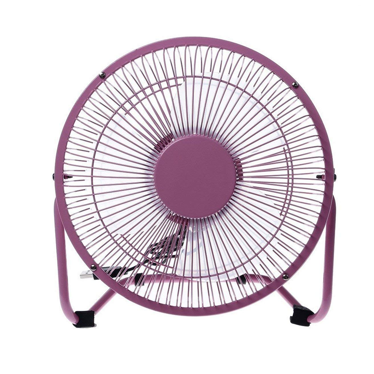 USB Fan, Portable Desk Table USB Fan for Home Bedroom Office Outdoor Travel, Quiet Operation, 2 Adjustable Speeds,360 Degrees Rotation, 3.6FT Retractable USB Cable