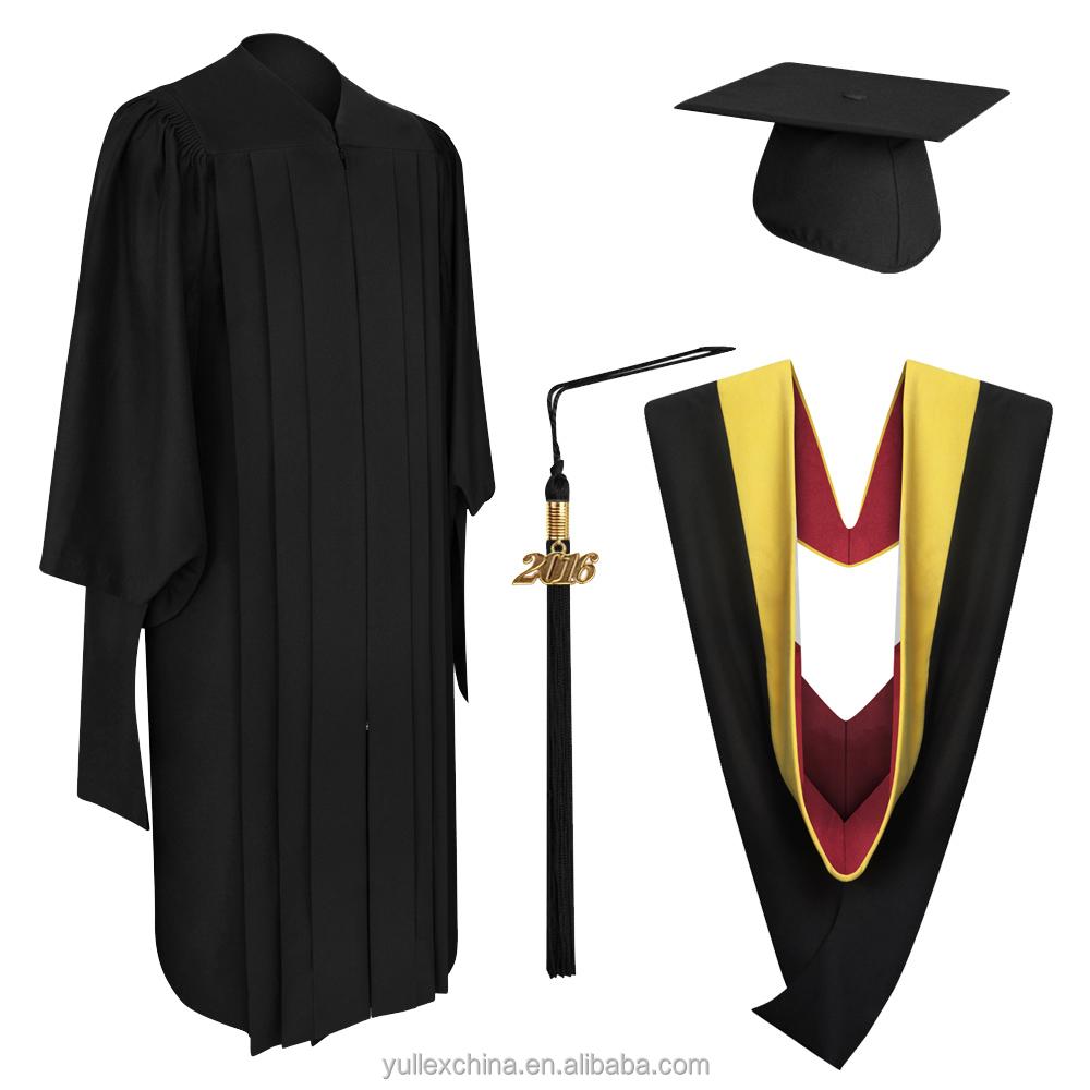 Deluxe Master Graduation Cap,Gown,Tassel & Hood - Buy Master ...