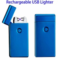 2017 Rechargeable Flameless Plasma Lighter, Flameless USB Electric Arc Lighter