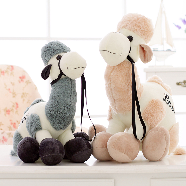 Soft Touch 100% Polyester Fibers Camel Shape Custom Plush Toy Stuffed <strong>Animal</strong>
