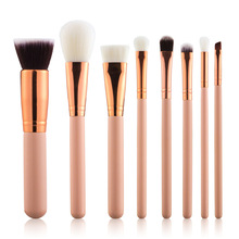 Eye Use Best Selling Imports 8pcs Makeup Brush Sets Wood Handle Material