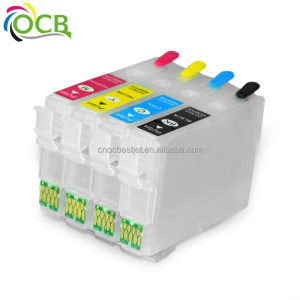 OCBESTJET T0761-T0764 refill ink cartridge For Epson ME200 ME2 C58 Printer