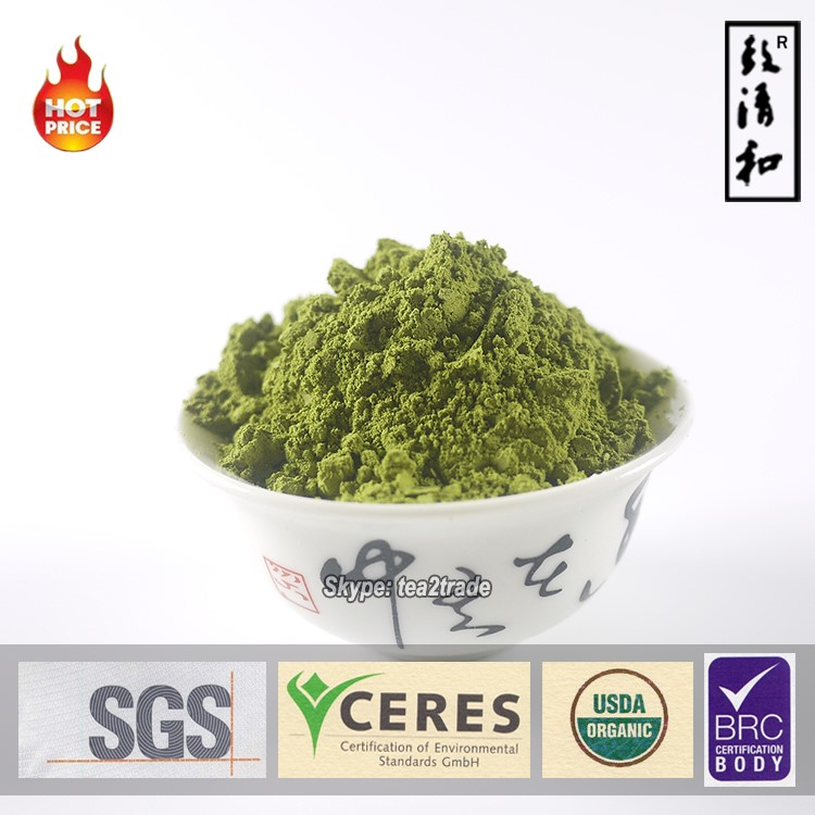 Chinese Mocha Factory Sales High Quality 100% Natural Matcha Tea without Additive