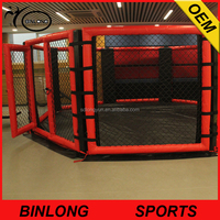 Ground floor Octagon fight MMA UFC cage boxing ring MMA cage for sale factory price
