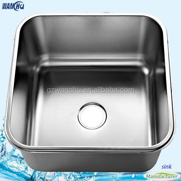 Manufactures Best Kitchen Sink Brand Stamping Sink 201 304 Industrial Sink Commercial Stainless Steel Kitchen