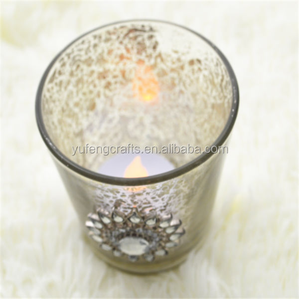 brass antique candle holder (factory) for home decoration and collection and gift