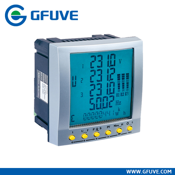 three phase din rail analog energy meter