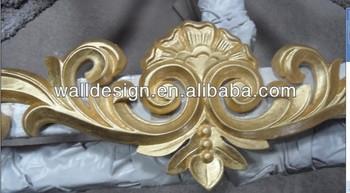Parete Doro : Foglia d oro interni mdfcarved d parete pannelli buy d parete
