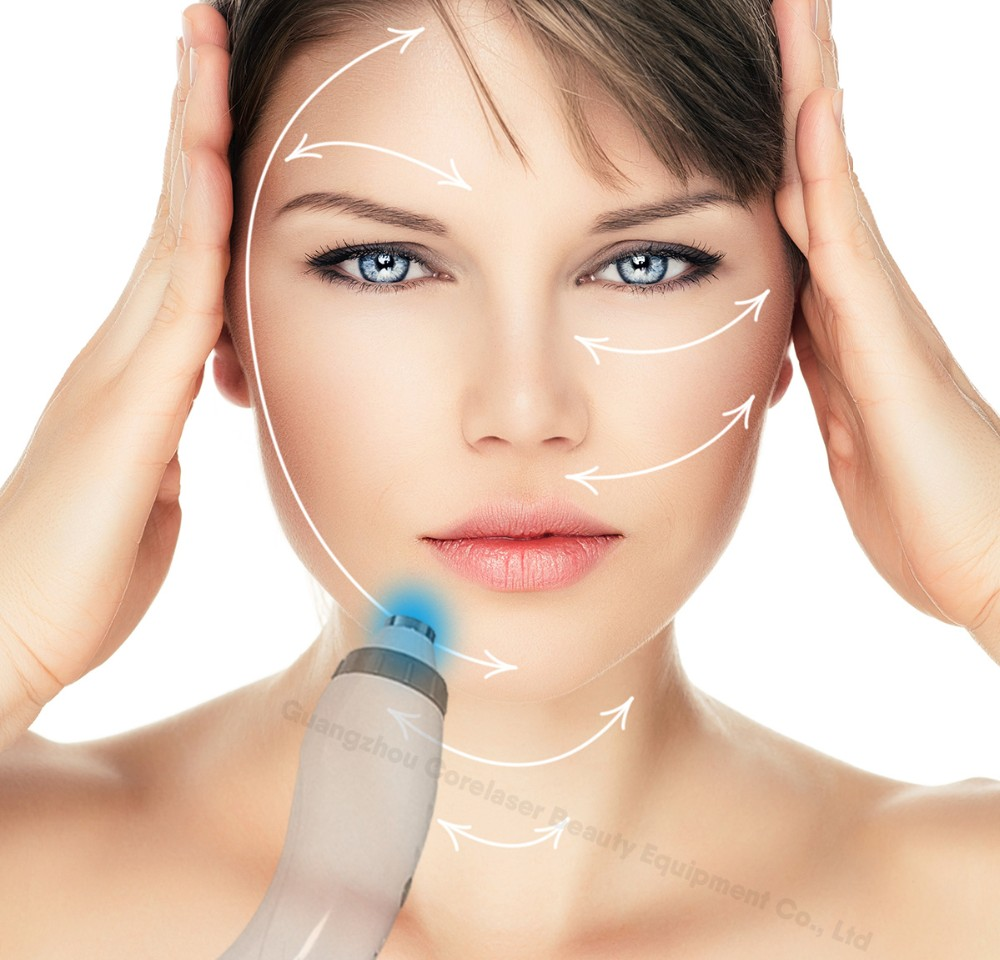 Professional 2 handpiece pain free hair removal SHR ipl machine