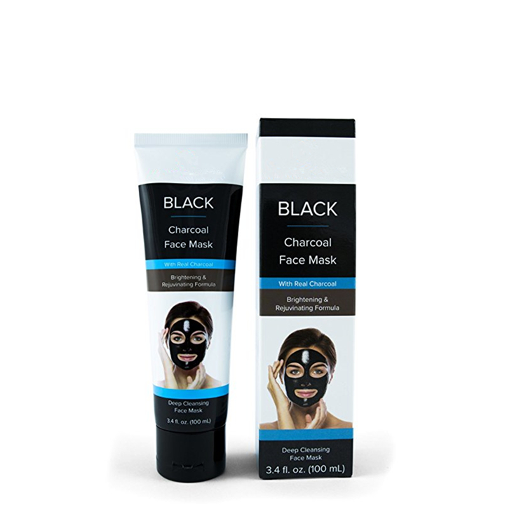 Private Label Organic Vegan Charcoal Face Black Mask
