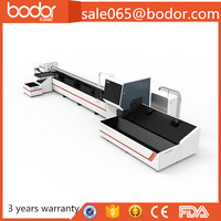 China Bodor fiber 500 watt laser cutter 6m stainless steel pipe cutting machine