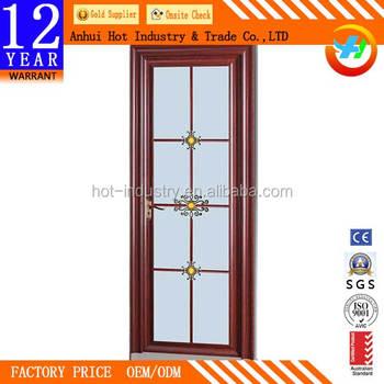 New Style Aluminium Kitchen Entry Doors Panel Aluminium Profile
