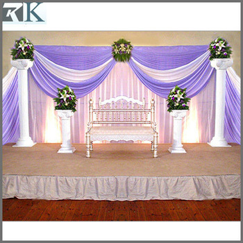 Indoor Hall Wedding Stage Decoration Buy Flower Stage Decoration