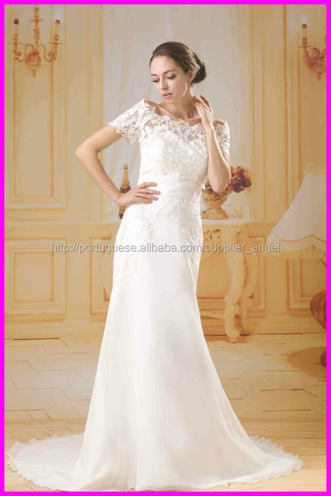 2015 Guangzhou Vestidos De Noiva Chiffon Preço Barato Com Ag056 Bolero De Renda Destacável Vestido Saias Tamanho Extra Id Do