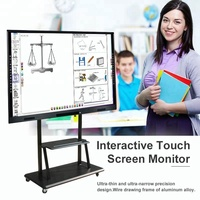 "65"" Led interaction whiteboard touch screen smart tv"
