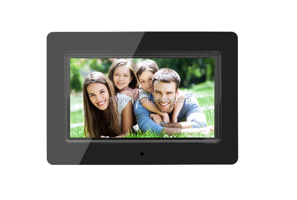 Digital Video Player Ad Photo Frame 7 Inch Tft Lcd Monitor Picture ...